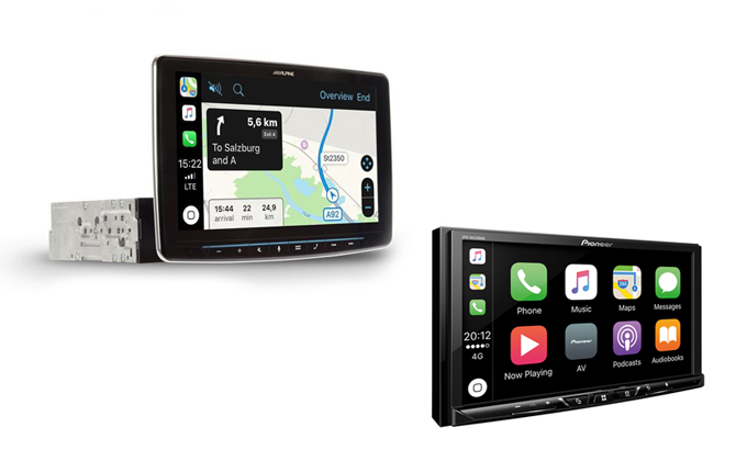 Apple Carplay et Android Auto