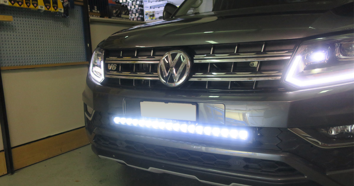 Barre LED Oledone VW Amarok