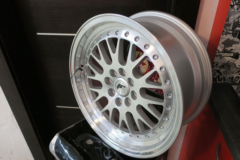 JR10 silver Honda Civic EK4